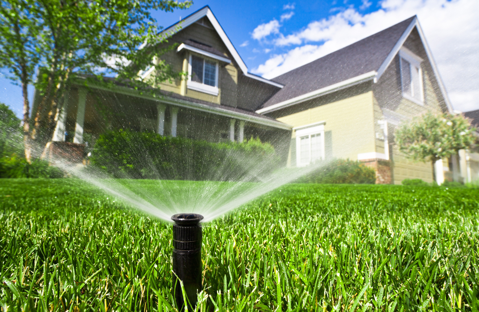 Sprinkler system installation wichita irrigation system install - How to design an irrigation system at home ...