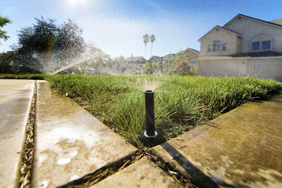 Sprinkler Irrigation Installation